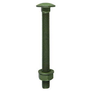 Picture for category Carriage Bolt, Washer & Nut - Exterior Green
