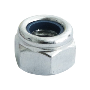 Picture for category Nylon Nut - Type P - Zinc