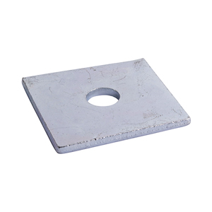 Picture for category Square Plate Washer - Zinc