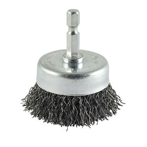 Picture for category Crimped Steel Wire Cup Brush
