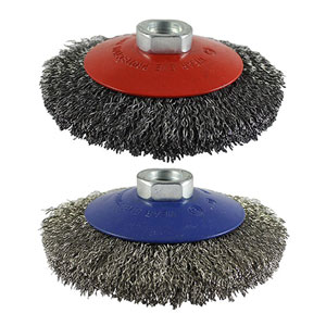 Picture for category Crimped Wire Bevel Brush