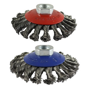Picture for category Twisted Knot Wire Bevel Brush