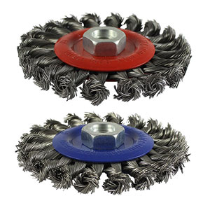 Picture for category Twisted Knot Wire Brush