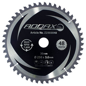 Picture for category Zero Degree Mitre Saw Blades