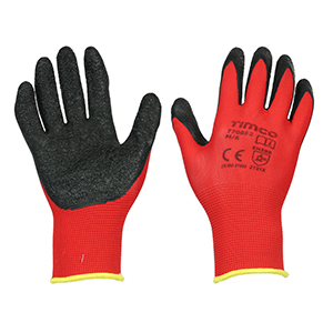 Picture for category Light Grip Gloves - Crinkle Latex Coated Polyester