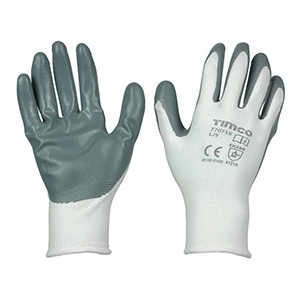 Picture for category Secure Grip Gloves - Smooth Nitrile Foam Coated Polyester