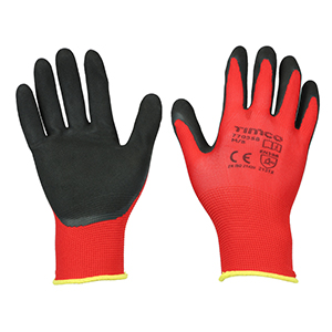 Picture for category Toughlight Grip Gloves - Latex Sandy Coated Polyester