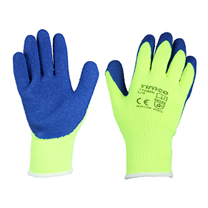 Picture for category Warm Grip Gloves - Crinkle Latex Coated Polyester