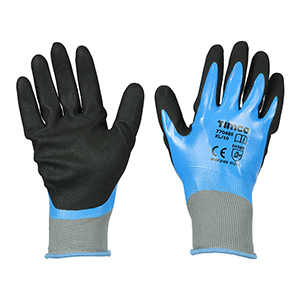 Picture for category Waterproof Grip Gloves - Sandy Nitrile Foam Coated Polyester