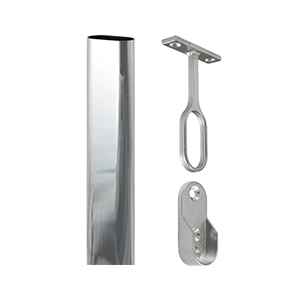 Picture for category Oval Wardrobe Rail & Accessories