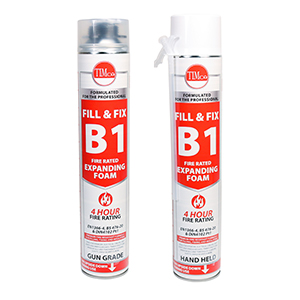 Picture for category B1 Fill & Fix Fire Rated Expanding PU Foam